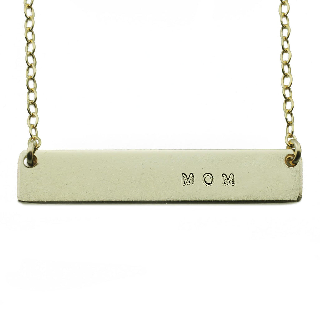 MOM NAMEPLATE NECKLACE