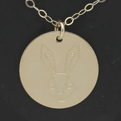 Spirit Animal Necklace - The Rabbit