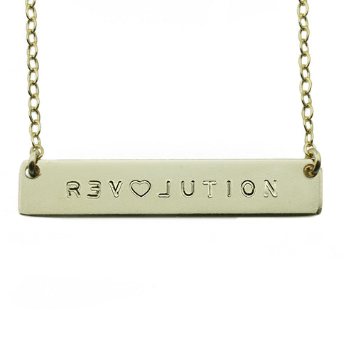 The Name Plate Necklace Revolution