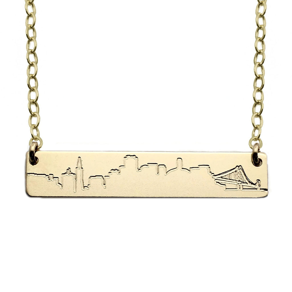 Skyline Necklace San Francisco