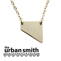THE URBAN SMITH GEOMETRIC ANGLE NECKLACE