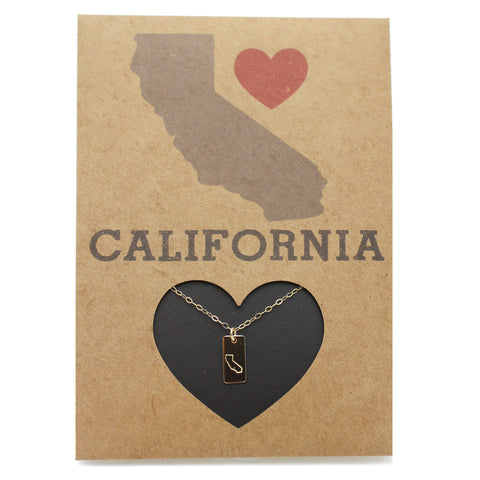 State Love Card - California