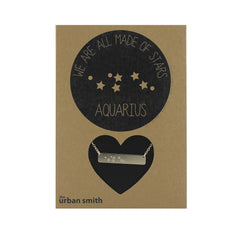 WE ARE ALL MADE OF STARS CONSTELLATION NECKLACE - AQUARIUS