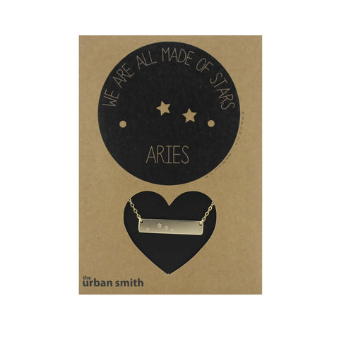 WE ARE ALL MADE OF STARS CONSTELLATION NECKLACE - ARIES