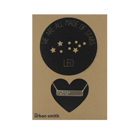 WE ARE ALL MADE OF STARS CONSTELLATION NECKLACE - LEO