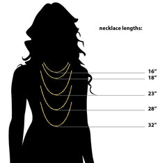 Latitude And Longitude Necklace Vertical