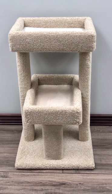 "KILTRONX PROTECT-A-PET NON-TOXIC KITTY TWIN BED ""CAT TREE OF LIFE""  - LARGE"