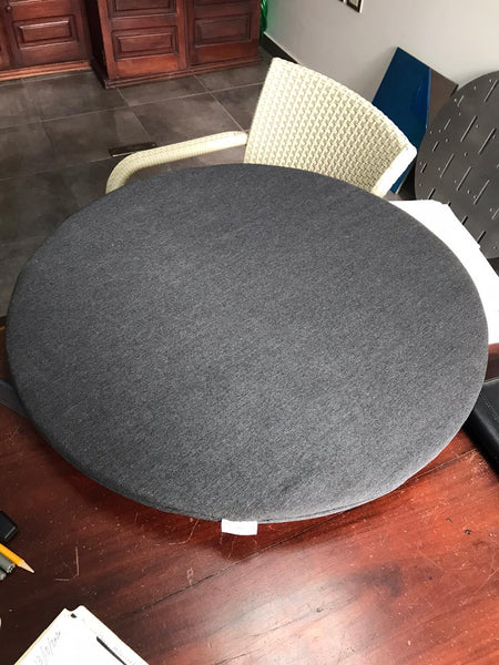 Cafe Table & Upholstered Cover
