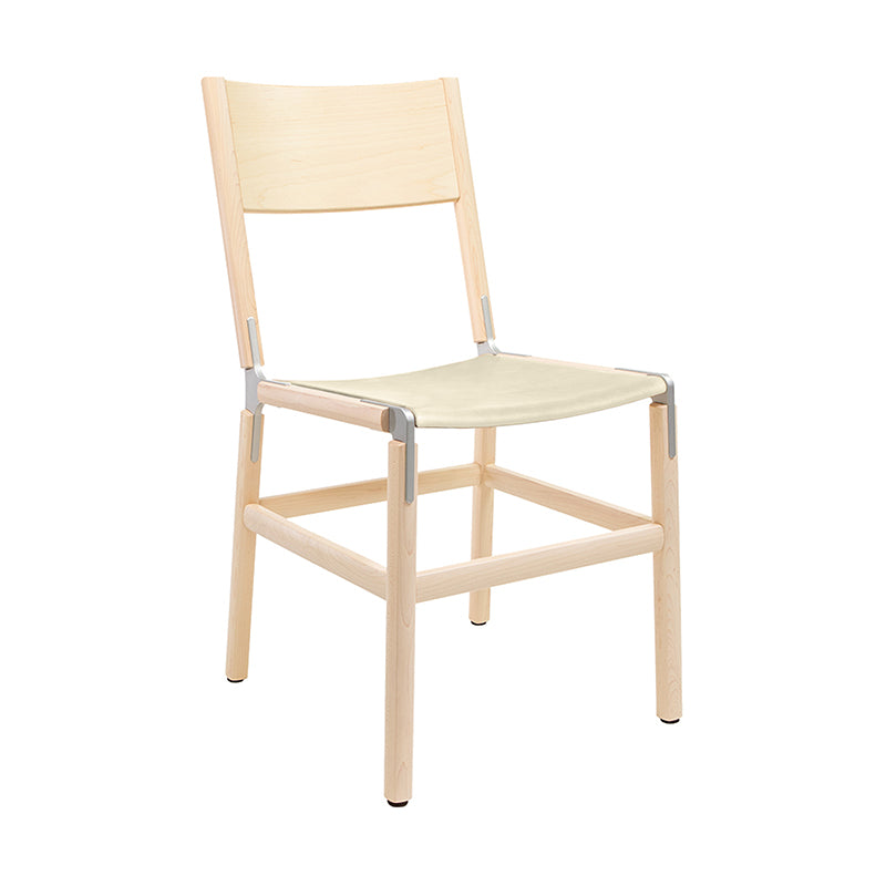 Mariposa Standard Chair with Upholstered Seat