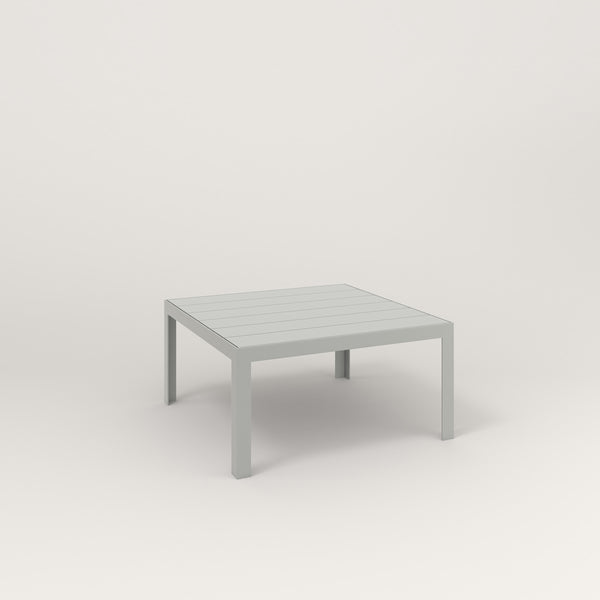 RAD Signature Coffee Table Slatted Steel in grey powder coat.