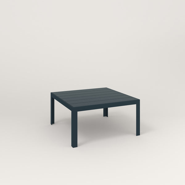 RAD Signature Coffee Table Slatted Steel in navy powder coat.