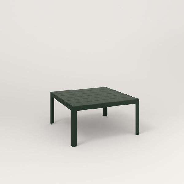 RAD Signature Coffee Table Slatted Steel in fir green powder coat.