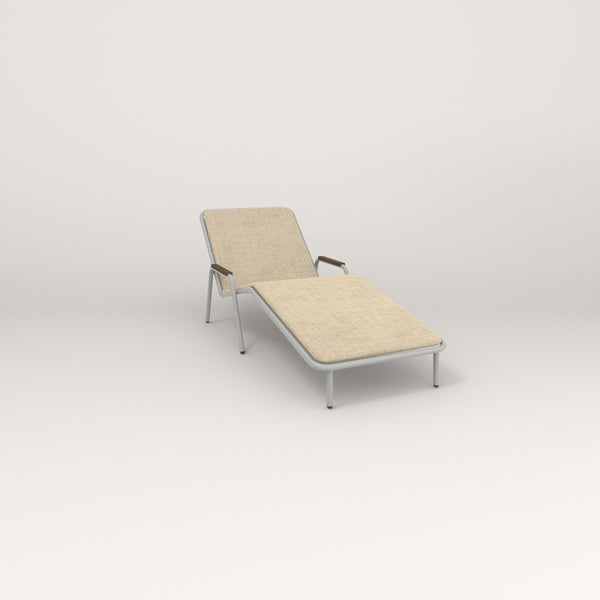 RAD Signature Chaise Lounge in grey powder coat.