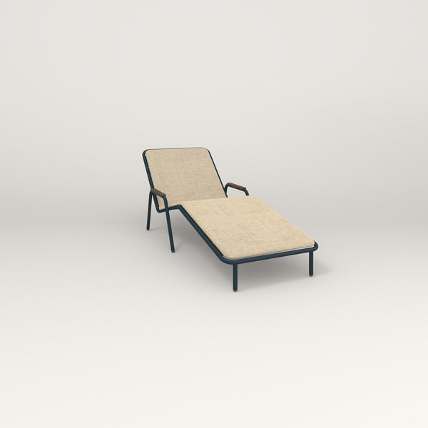 RAD Signature Chaise Lounge in navy powder coat.