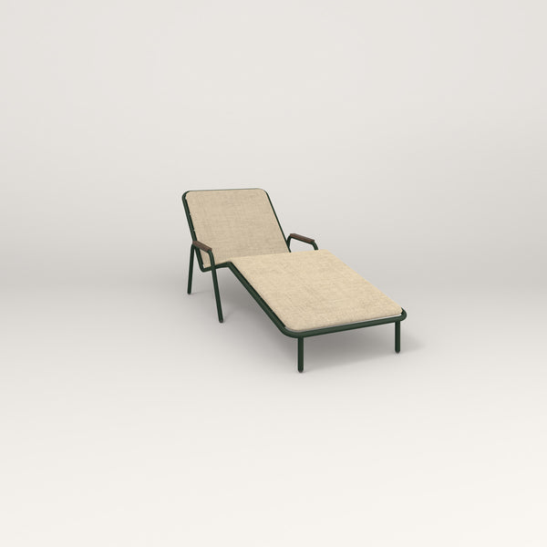 RAD Signature Chaise Lounge in fir green powder coat.