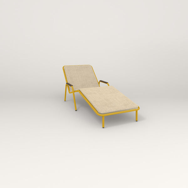 RAD Signature Chaise Lounge in yellow powder coat.