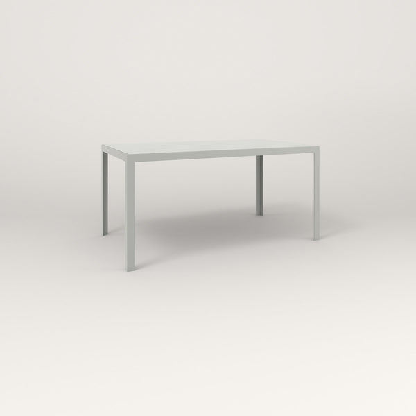 Slatted Steel Signature Table Counter Height