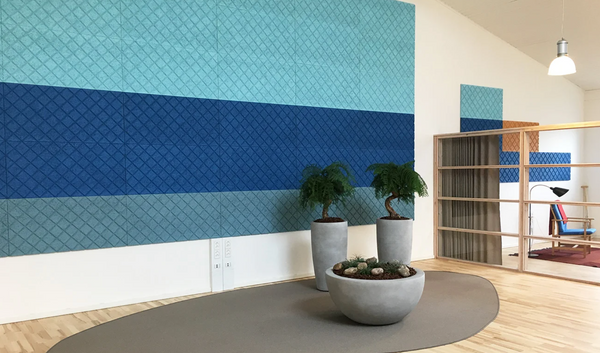 Wood Wool Acoustic Tiles & Panels — Workplace