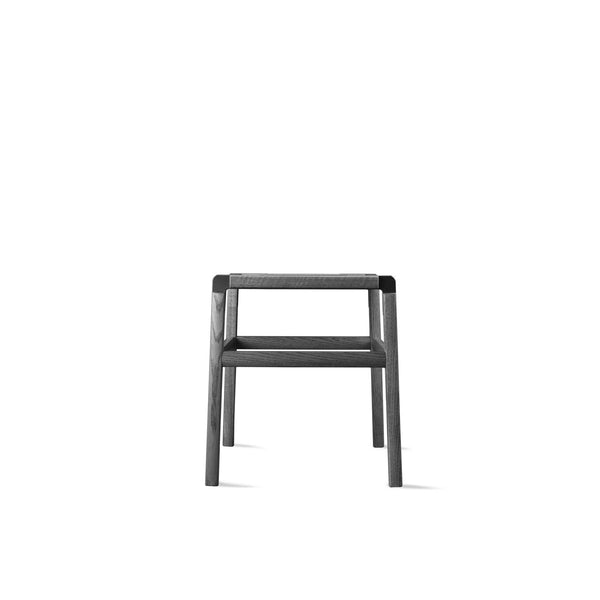 designer backless short stool perfect for interior design and architecture projects or home decor projects. Customization available, easy flat-pack, sustainable design, made in California, contemporary furniture, made by hand