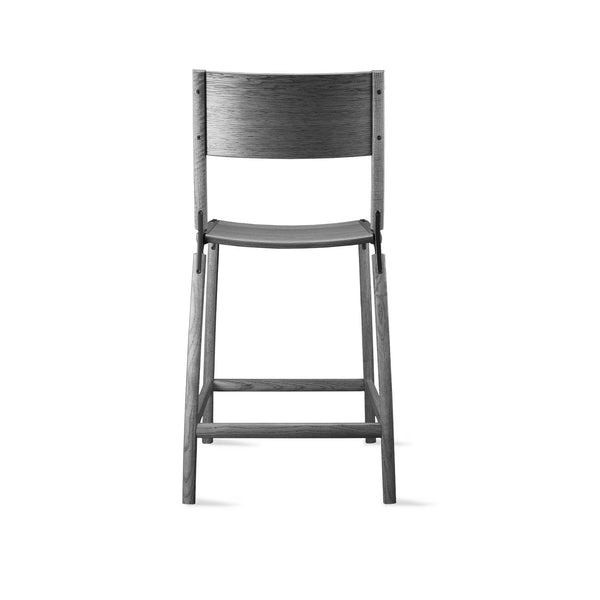 designer counter stool perfect for interior design and architecture projects or home decor projects. Customization available, easy flat-pack, sustainable design, made in California, contemporary furniture, made by hand