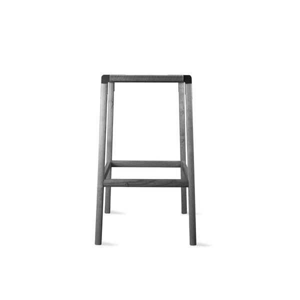 designer bar stool perfect for interior design and architecture projects or home decor projects. Customization available, easy flat-pack, sustainable design, made in California, contemporary furniture, made by hand