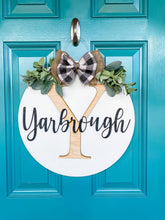 Load image into Gallery viewer, 3D Farmhouse Inspired Door Hanger