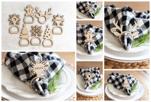 Load image into Gallery viewer, Napkin Rings (Fall)