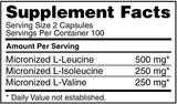 Optimum Nutrition BCAA 1000 CAPS 200 CAPSULES