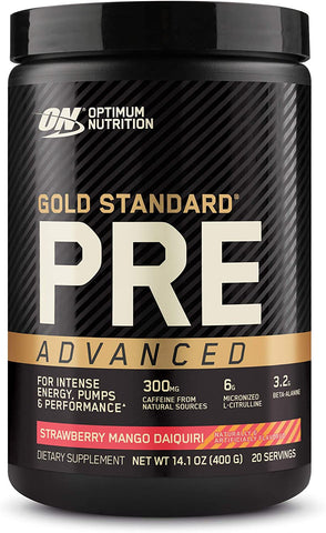 Optimum Nutrition Gold Standard Pre Advanced 20 Serves