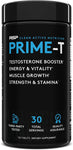 RSP Nutrition, Prime-T, Testosterone Booster, 120 Tablets