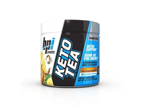 Bpi Sports Keto Tea Iced Tea Flavour Grunt Nutrition