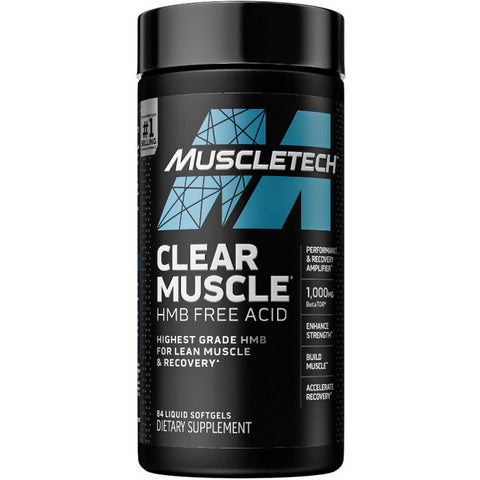 MuscleTech Clear Muscle 84 Liquid Softgels