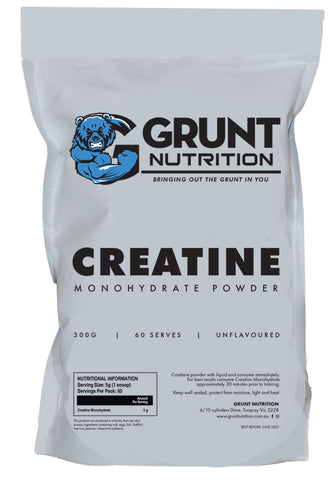 Creatine Monohydrate by Grunt Nutrition