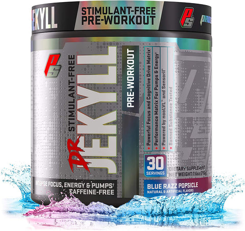 Pro Supps Dr Jekyll Stimulant-Free Pre Workout 30 Servings