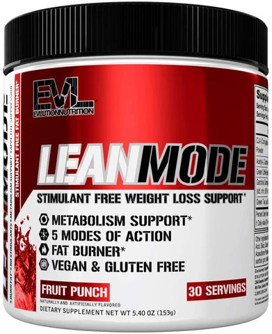 Evlution Nutrition, Lean Mode, Stimulant Free Powder