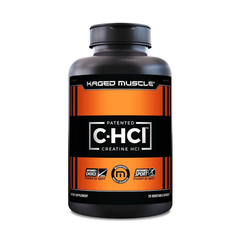 Kaged Muscle C-HCl Patented Creatine HCL 75 Capsules