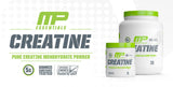 MusclePharm Essentials Creatine 60 Servings