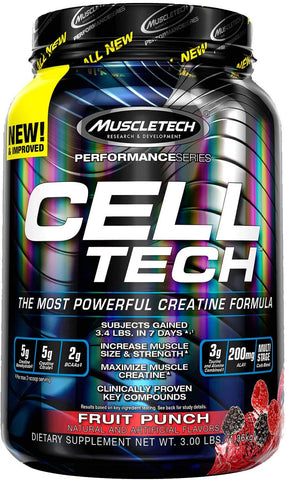MuscleTech Cell Tech Creatine 28 Servings