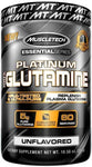 Muscletech Platinum 100% Glutamine 300 Grams Unflavoured