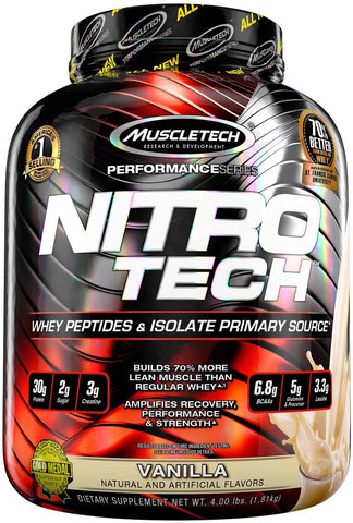 MuscleTech Nitro Tech 40 Servings