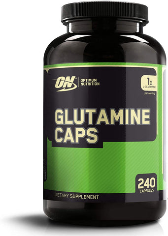 Optimum Nutrition Glutamine Caps 240 Capsules