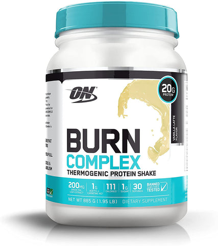 Optimum Nutrition Burn Complex Thermogenic Protein Powder 885g