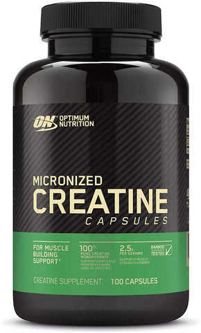 Optimum Nutrition Micronized Creatine 100 Capsules