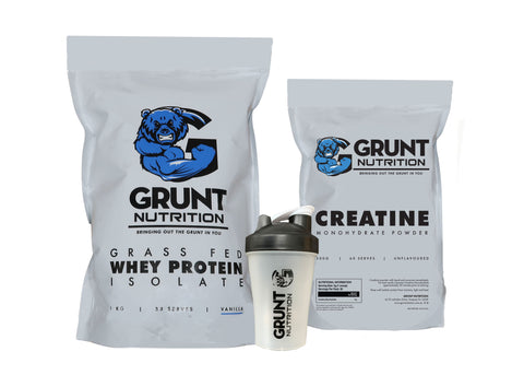 Grunt Protein And Creatine Pack