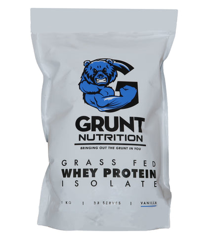 Grunt Nutrition Whey Protein Isolate