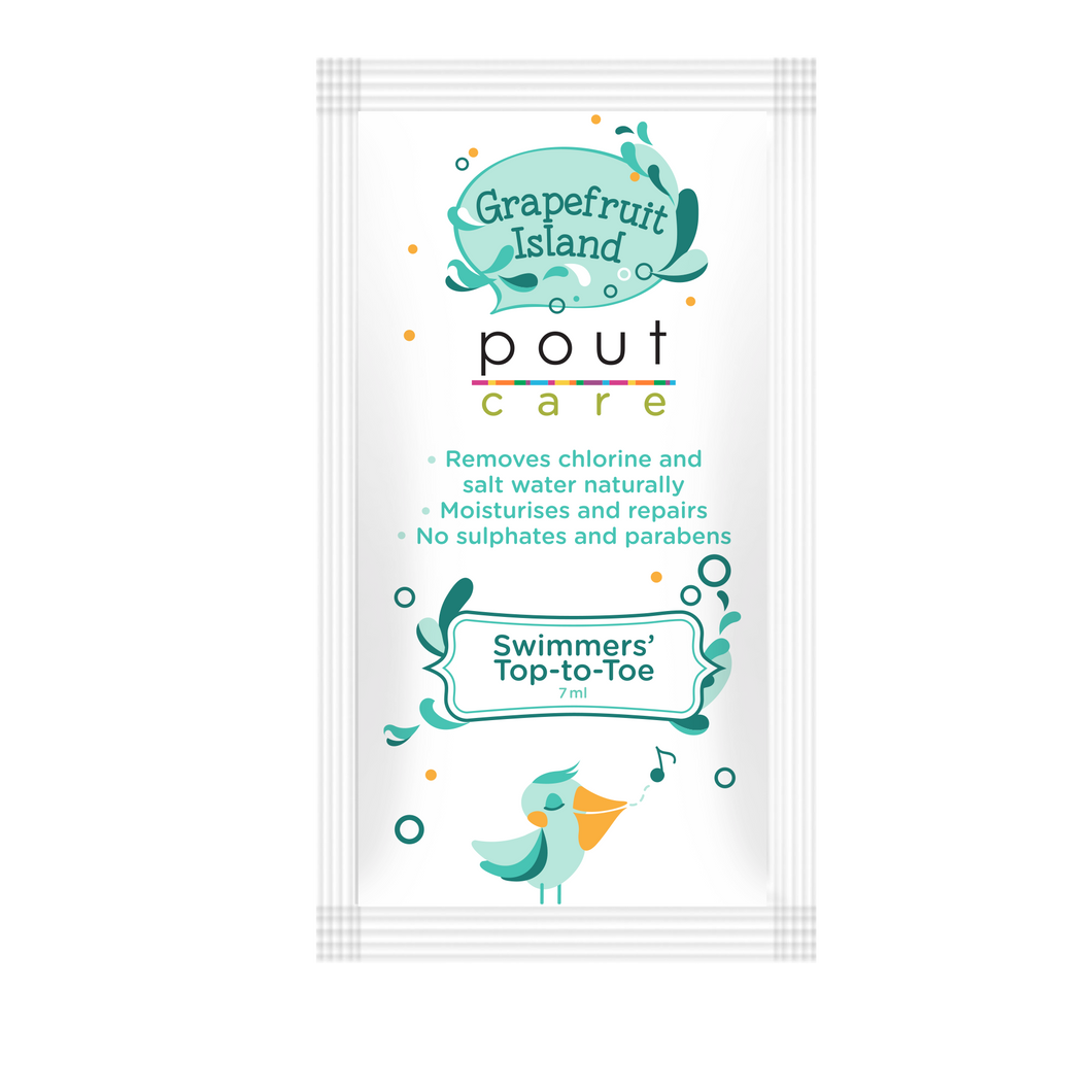 pout Care Grapefruit Island Swimmers' Top-to-Toe 7ml
