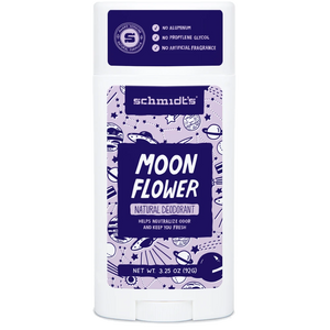 Schmidt's Deodorant Moon Flower Stick 3.25oz