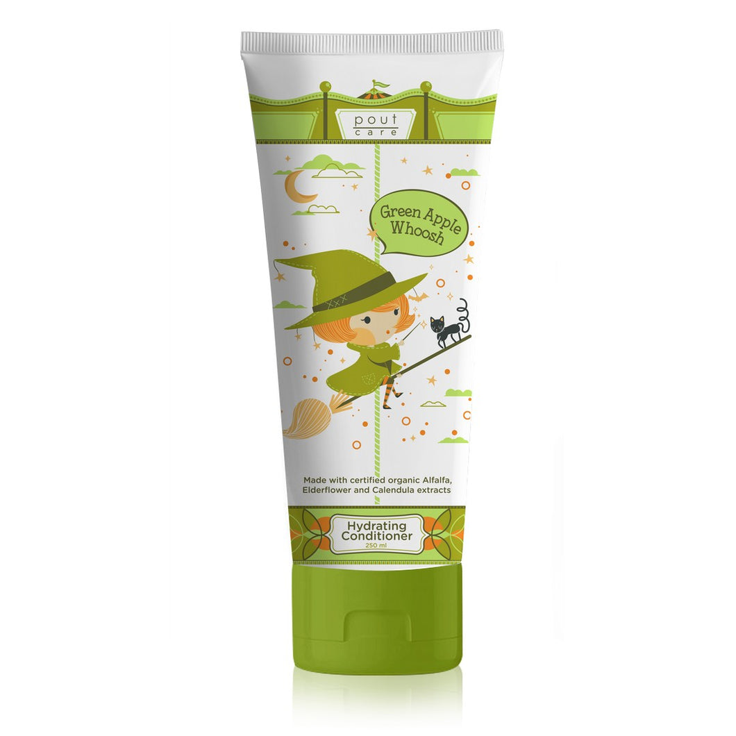pout Care Green Apple Whoosh Hydrating Conditioner 250ml