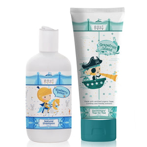 pout Care Natural Shampoo and Swimmers' Top-to-Toe Bundle
