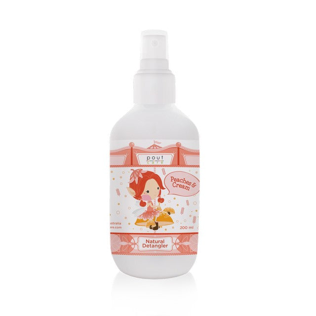 pout Care Peaches & Cream Natural Detangler 200ml